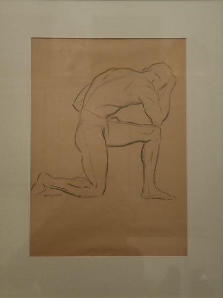 Set of Ten Ink Drawings by Ben Carre, Paris circa 1920