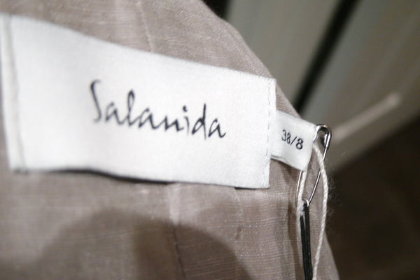 Salanida TopStitched Fitted Jacket