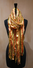 Ginny Vineyard One-of-a-Kind Handwoven Scarf/Wrap
