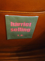 Handpainted, One-of-a-Kind Vintage Lizard Purse from Harriet Selling