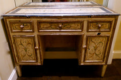 Antique Painted Venetian Desk Circa 18th Century