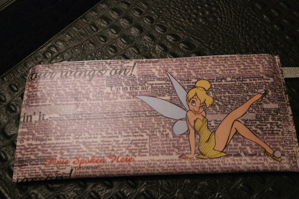 Your Sister's Moustache Tinkerbell Clutch Handbag