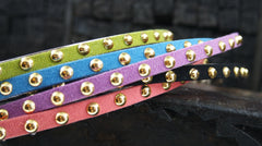 Studded Silk Headband