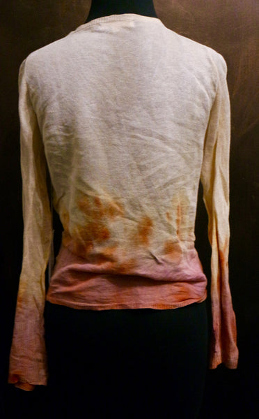 Marika Charles Hand Dyed V-Neck Sweater