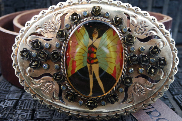 VSA Virgins, Saints & Angels Rosarita Belt Buckle