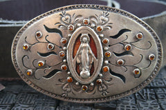 VSA VIrgins, Saints & Angels Miraculous Virgin Belt and Buckle