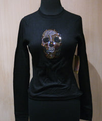 And Cake Cashmere and Swarovski Skull Sweater