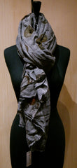 "Faliero Sarti  ""As Time Goes By"" Clock Scarf"