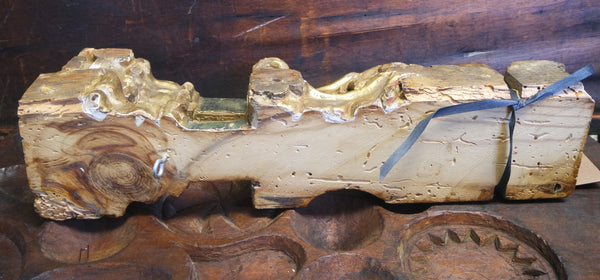 Antique Venetian Gilt Architectural Fragments, circa 1800