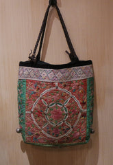 J.P. and Mattie One of a Kind Tribal Fabric Bohemian Yabo Shoulderbag