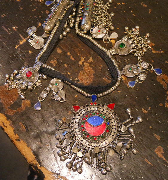 Old Bohemian Gypsy Kuchi Tribe Necklace- One-of-a-Kind