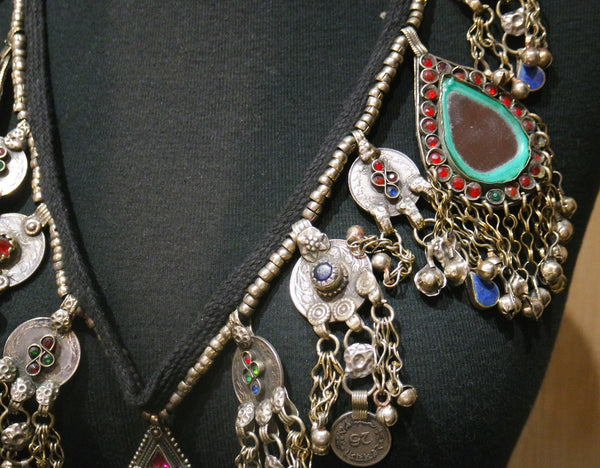 Vintage Kuchi Necklace-One-of-a-Kind