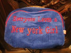 St. Tropez Cosmetic Bags - Corduroy