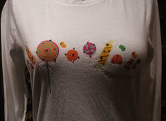 "And Cake ""Hey Sugar"" Long Sleeve Tee Shirt"