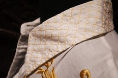 And Cake Gold Embroidered Blouse
