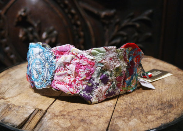 Pepita Quilted Colorful Headband