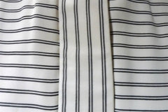 Vintage Geoffrey Beene Black and White Striped Tunic Jacket