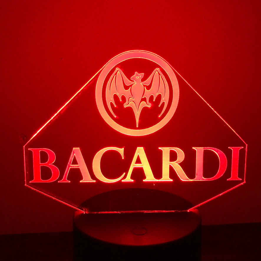 BACARDI 3D NIGHT LIGHT - Eyes Of The World