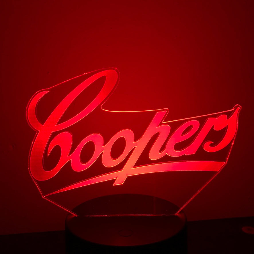 COOPERS BEER 3D NIGHT LIGHT - Eyes Of The World