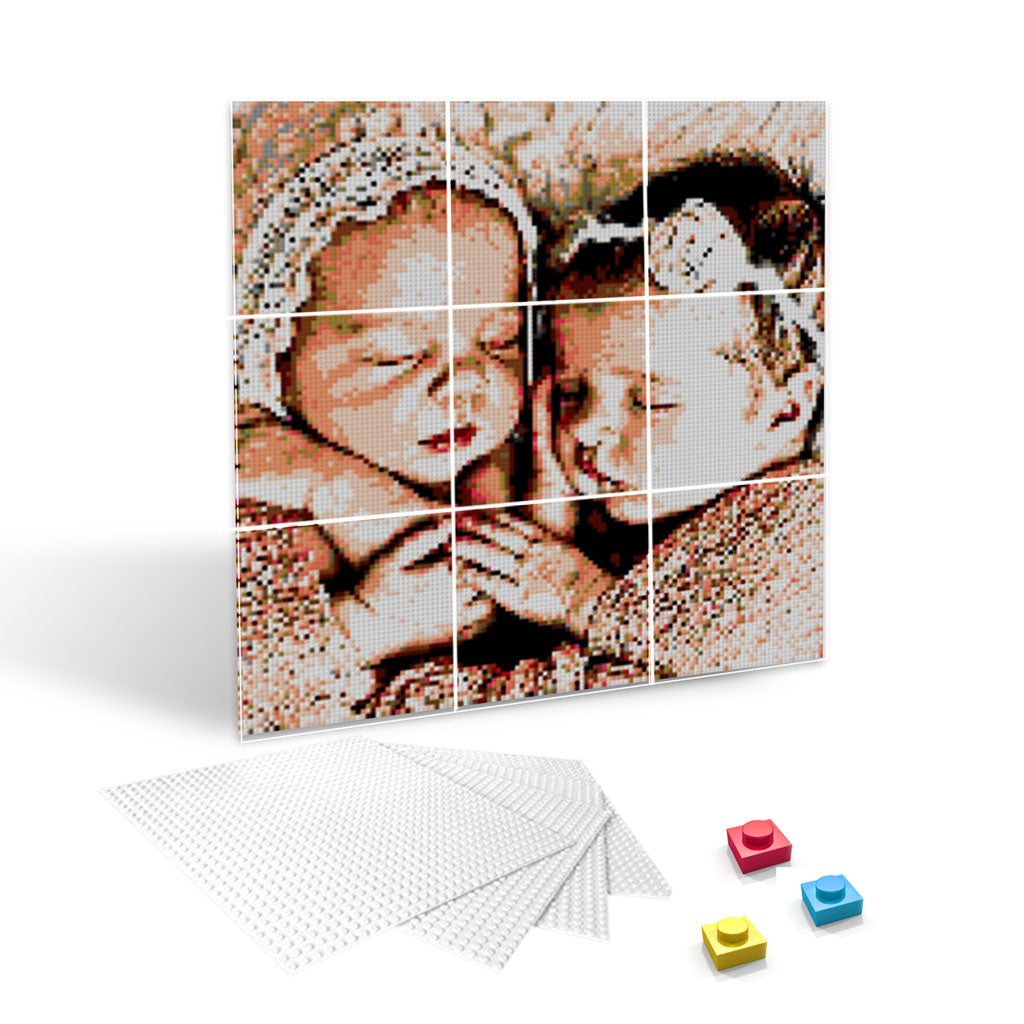 3x3 Boards - Phototbrick - Eyes Of The World