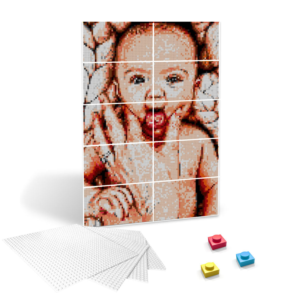 2x5 Boards - Photobrick - Eyes Of The World