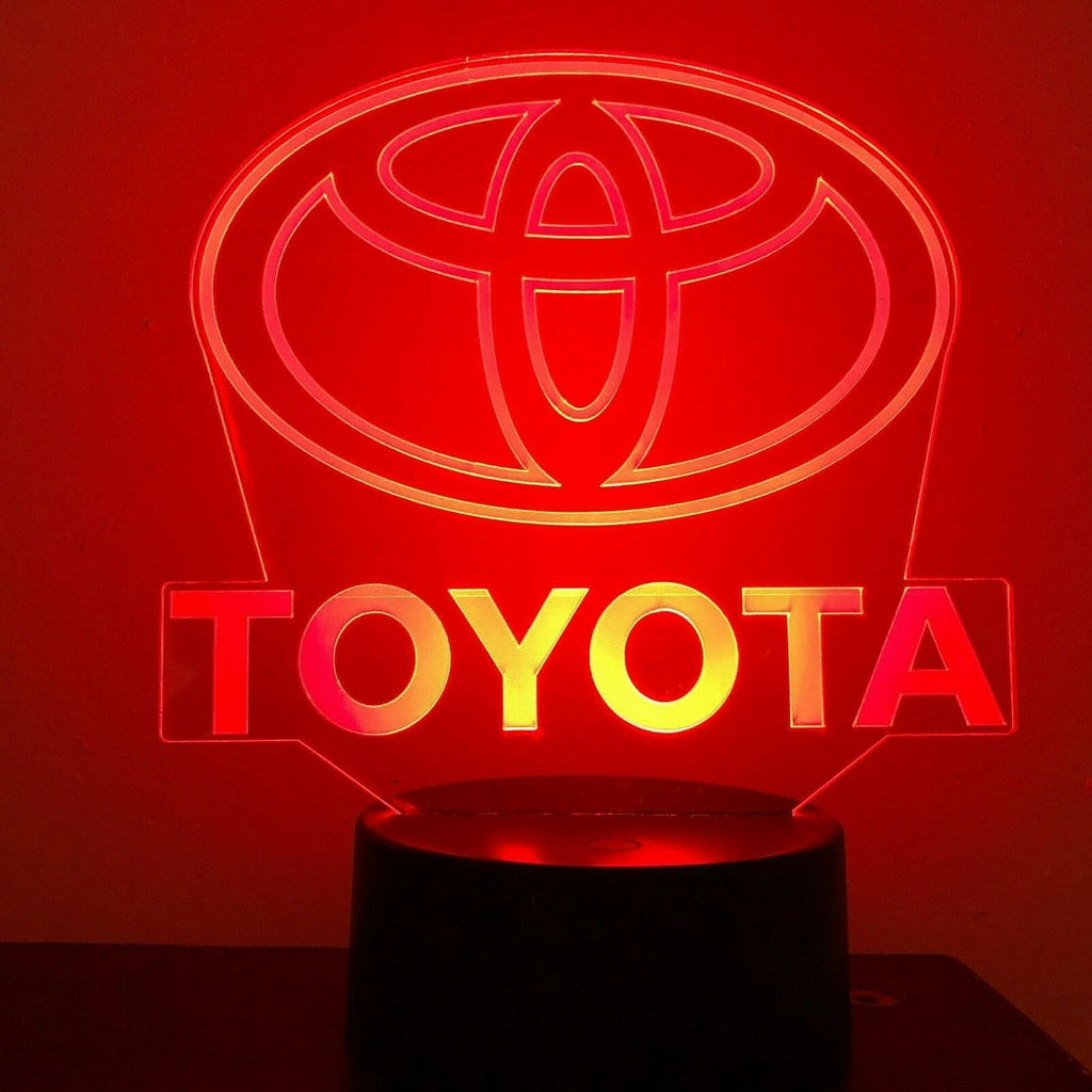 Toyota Landcruiser Truck Gift 3D Acrylic LED 7 Colour Night Light Touch Lamp - Eyes Of The World
