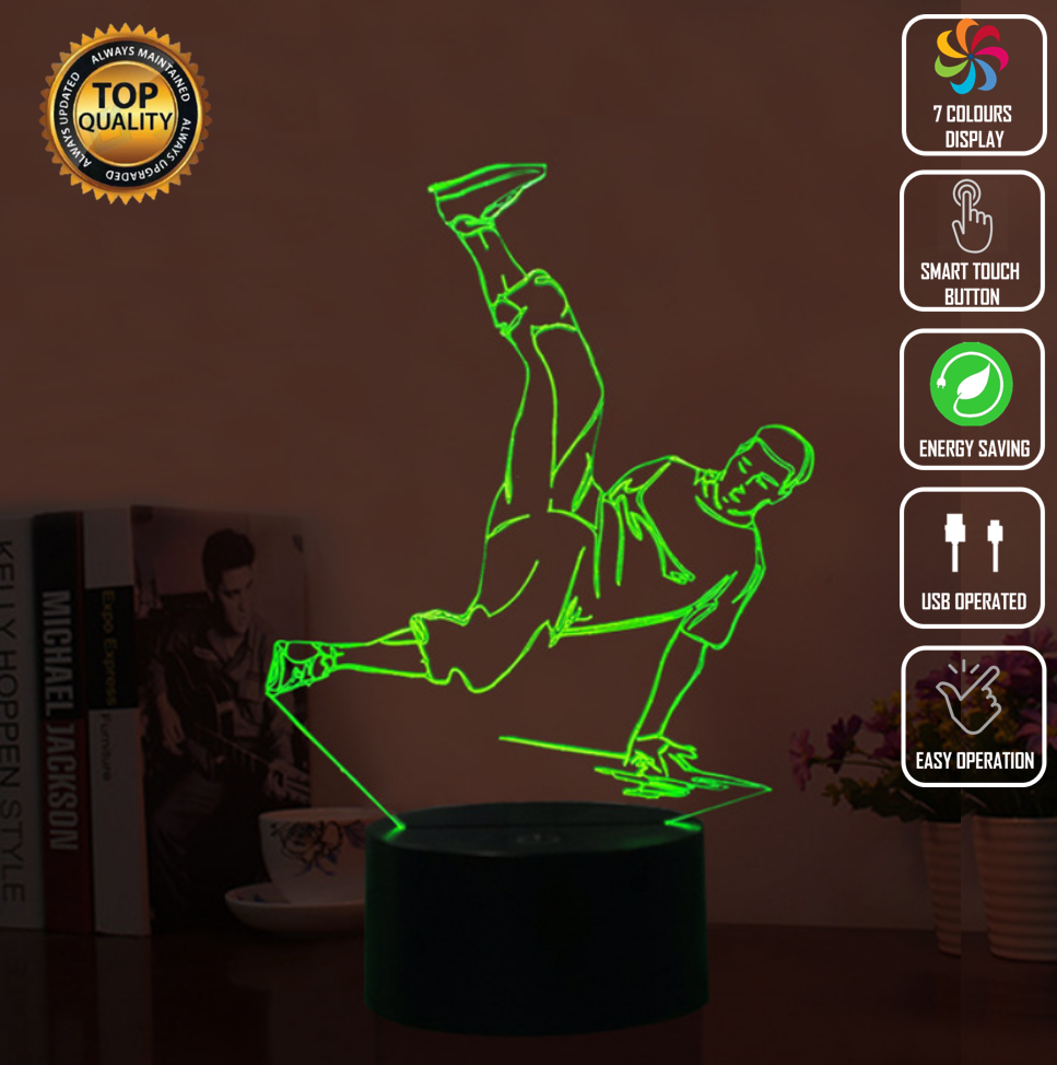 STREETDANCE GHETTO MUSIC 3D NIGHT LIGHT - Eyes Of The World