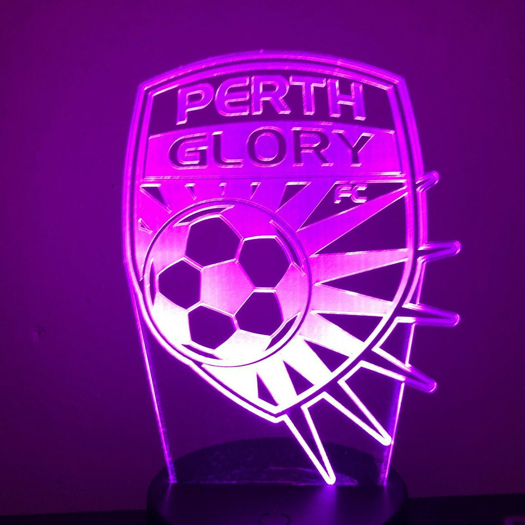 PERTH GLORY FC SOCCER 3D NIGHT LIGHT - Eyes Of The World