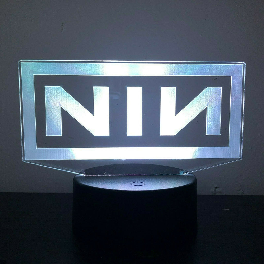 NINE INCH NAILS REZNOR BAND 3D NIGHT LIGHT - Eyes Of The World