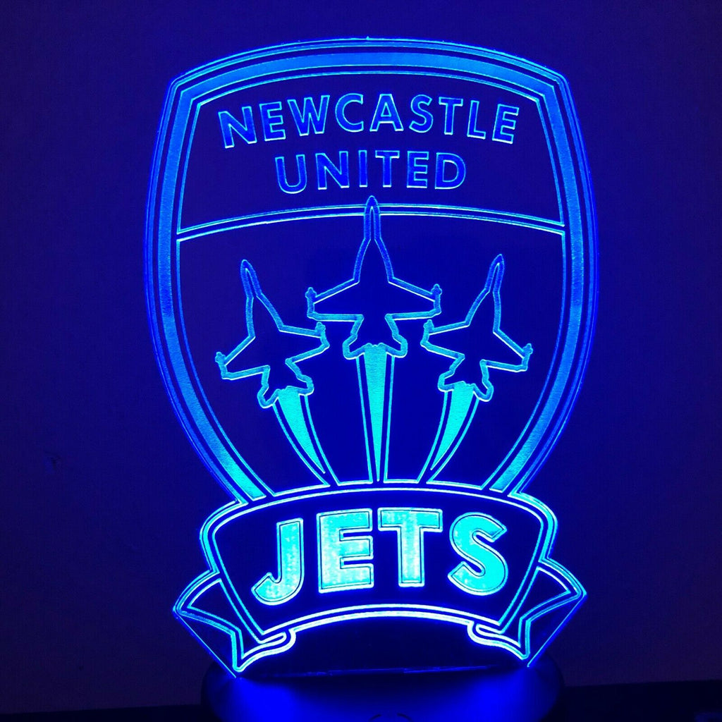 NEWCASTLE UNITED FC SOCCER 3D NIGHT LIGHT - Eyes Of The World