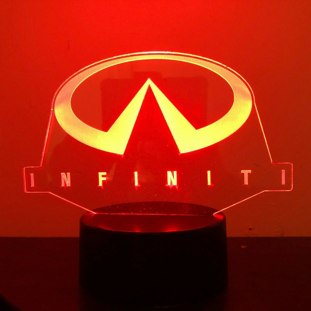 Infiniti Japanese Auto 3D NIGHT LIGHT - Eyes Of The World