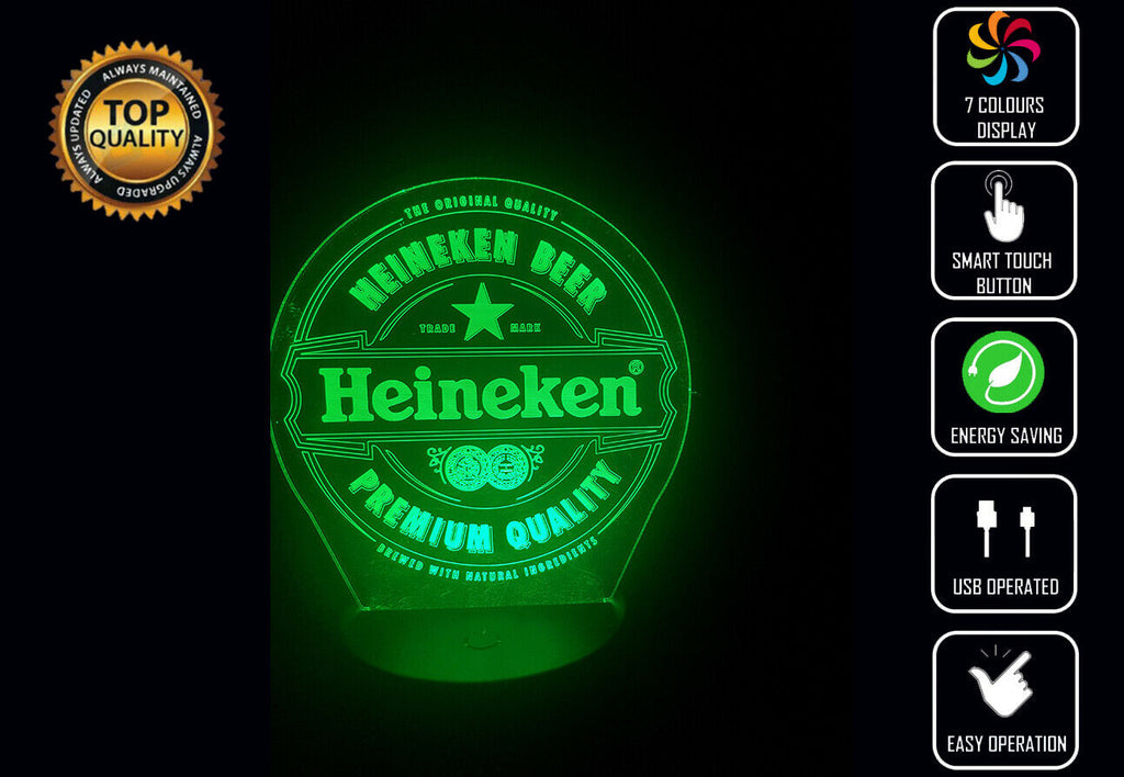 HEINEKEN 3D NIGHT LIGHT - Eyes Of The World