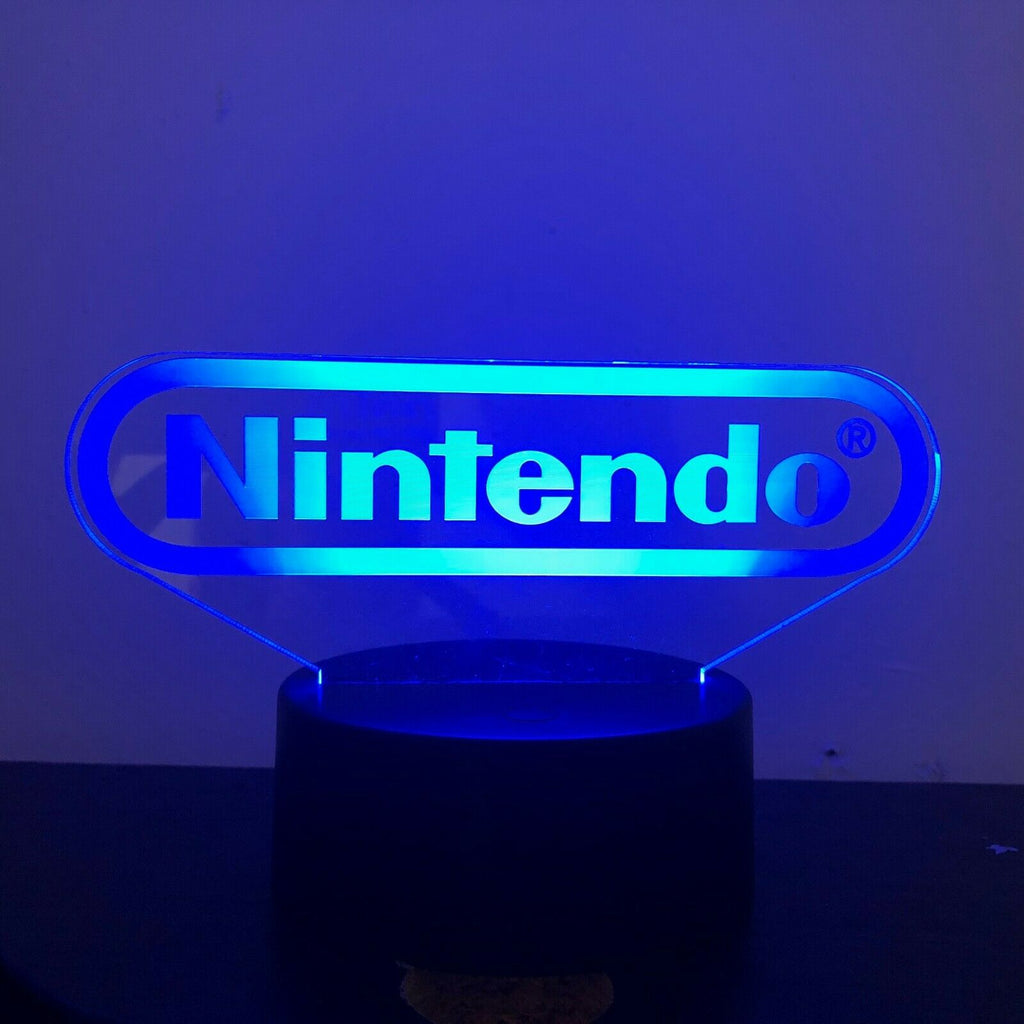 Nintendo 3D NIGHT LIGHT - Eyes Of The World