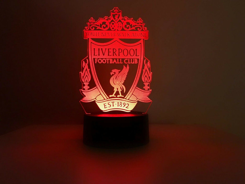 LIVERPOOL SOCCER TEAM 3D NIGHT LIGHT - Eyes Of The World
