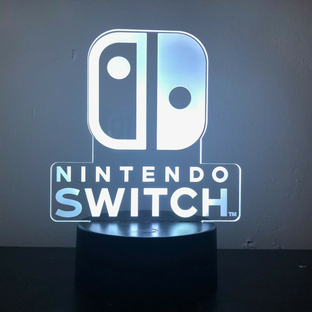 Nintendo Switch 3D NIGHT LIGHT - Eyes Of The World