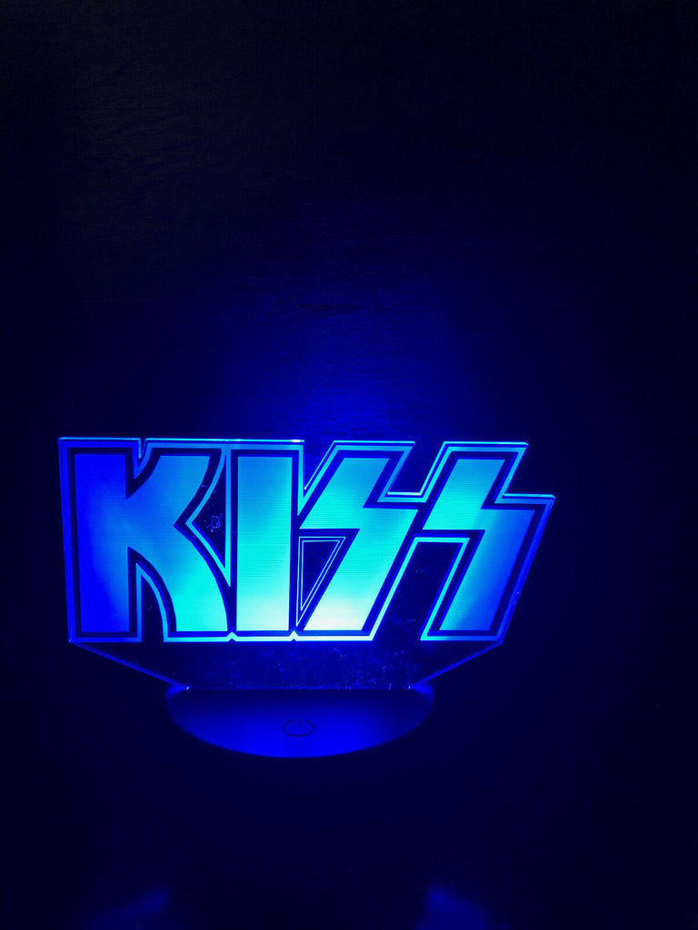 KISS ROCK N ROLL MUSIC BAND 3D NIGHT LIGHTS - Eyes Of The World