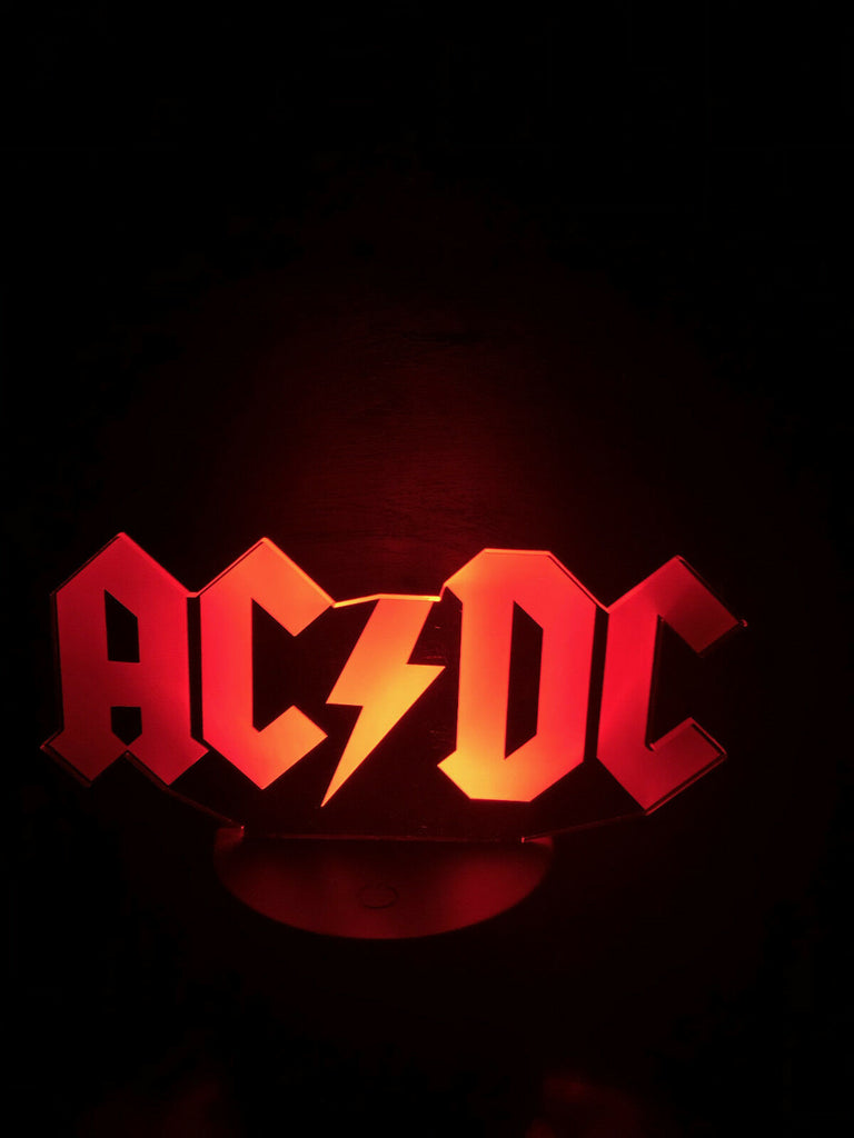 ACDC MUSIC ROCK N ROLL 3D NIGHT LIGHTS - Eyes Of The World