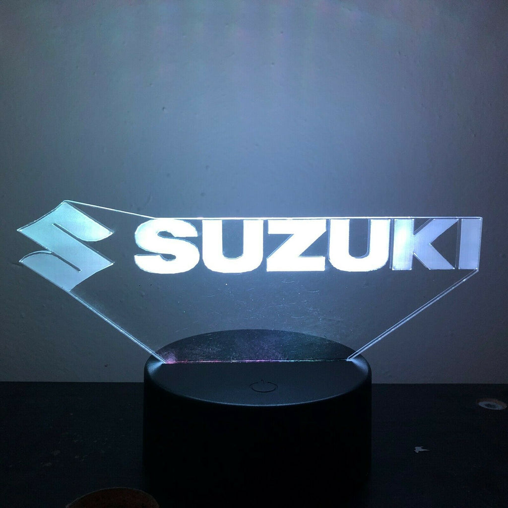SUZUKI 3D NIGHT LIGHT - Eyes Of The World