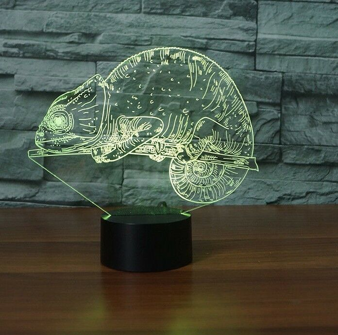 CHAMELEON ANIMAL 3D NIGHT LIGHT - Eyes Of The World