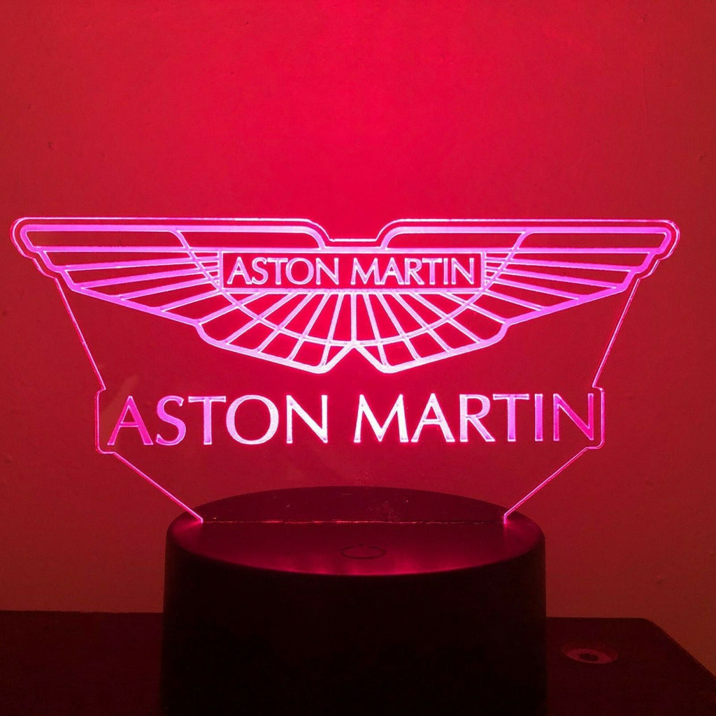 Aston Martin 007 Gift 3D Acrylic LED 7 Colour Night Light Touch Lamp - Eyes Of The World
