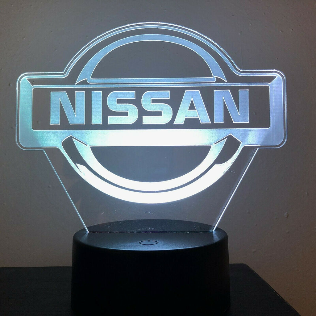 NISSAN LOGO 300Z 3D NIGHT LIGHT - Eyes Of The World