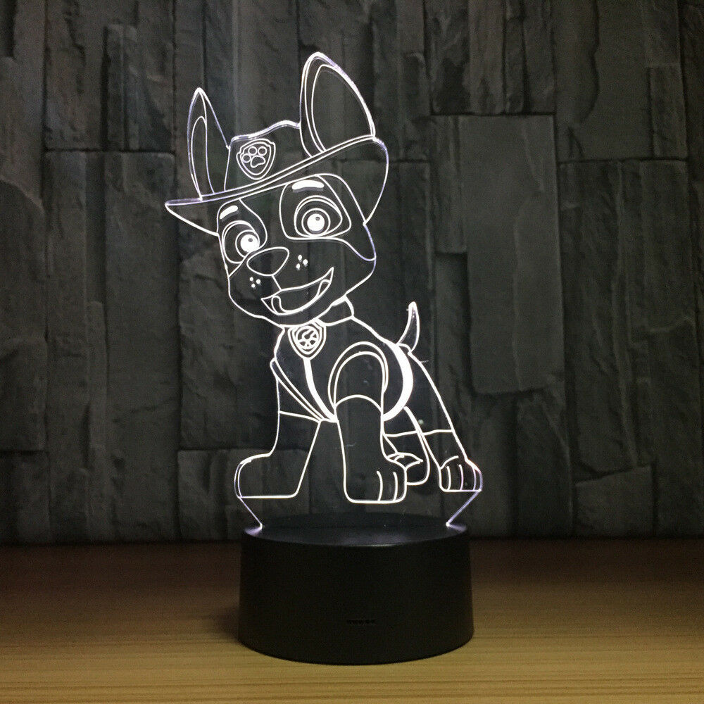 TRACKER PAW PATROL CHASE 3D NIGHT LIGHT - Eyes Of The World