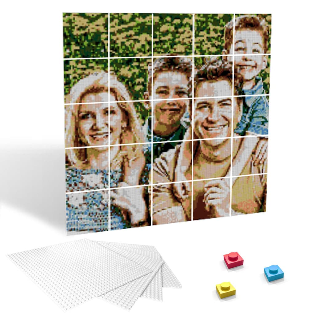 5x5 Boards - Photobrick - Eyes Of The World