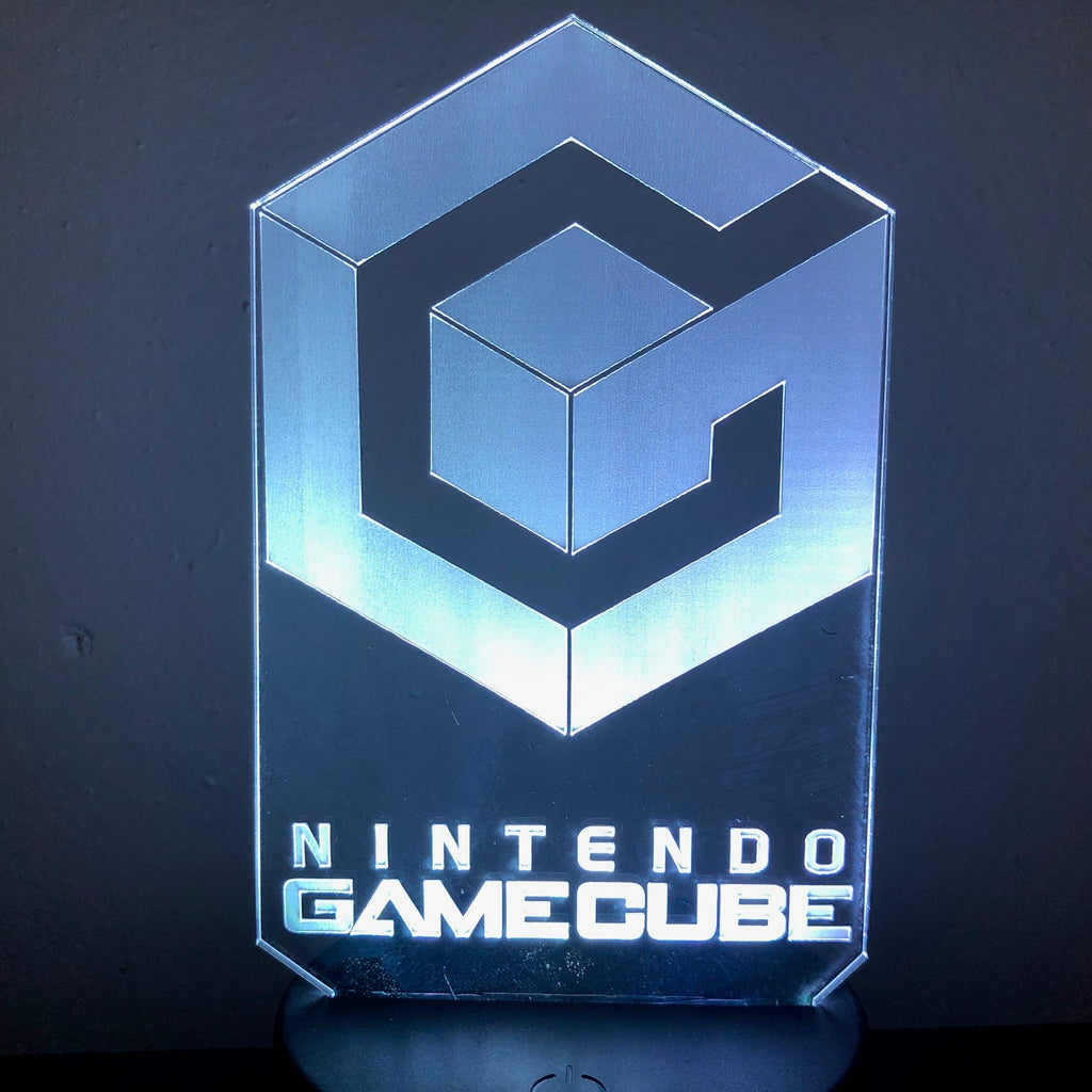 Nintendo Cube 3D NIGHT LIGHT