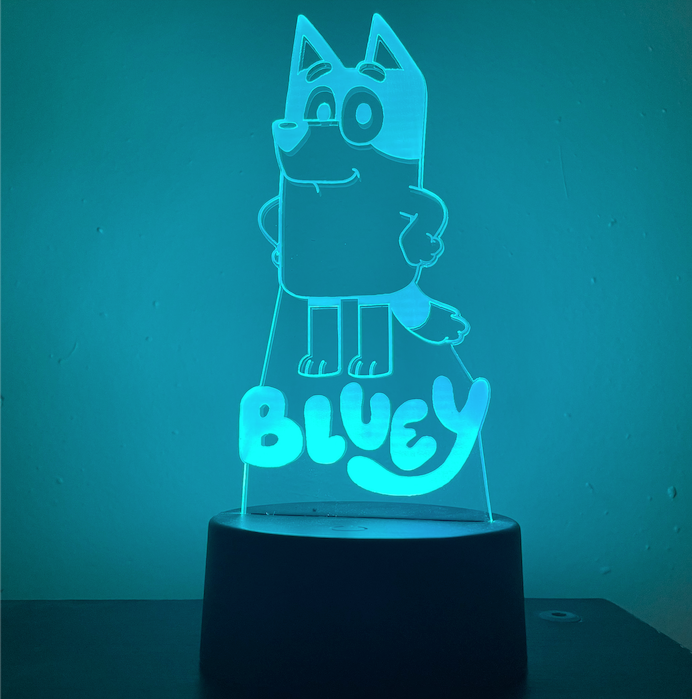 BLUEY 3D NIGHT LIGHT