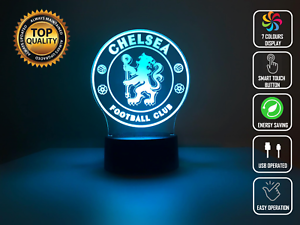 CHELSEA FC SOCCER 3D NIGHT LIGHT - Eyes Of The World
