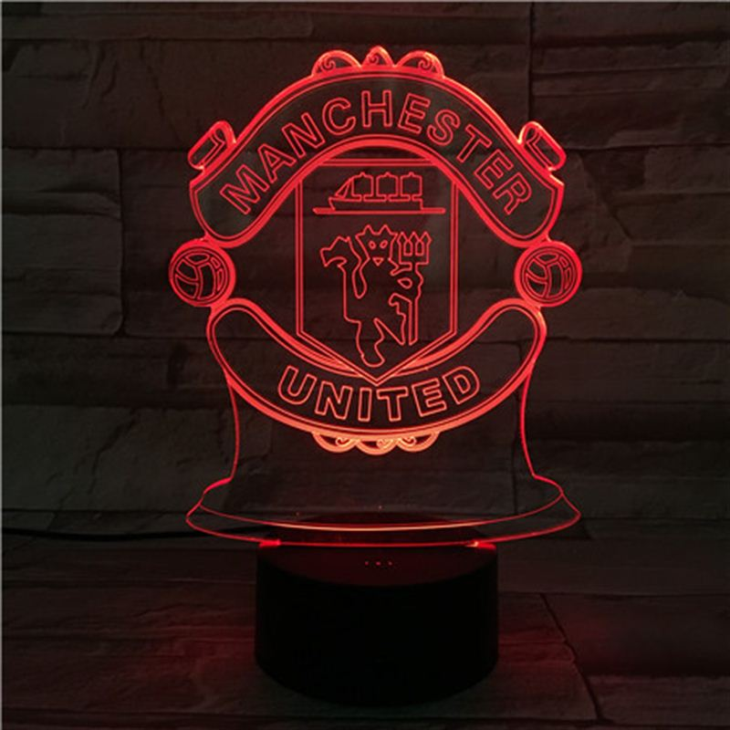 MANCHESTER UNITED SOCCER 3D NIGHT LIGHT - Eyes Of The World