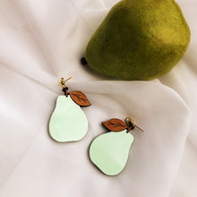 Load image into Gallery viewer, Pear Earrings