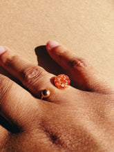 Load image into Gallery viewer, Rose Gold Flaked Ring