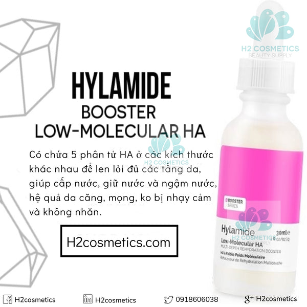 Hylamide Booster Low Molecular HA